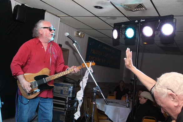 Bob Margolin plays the BBS Legion Hall