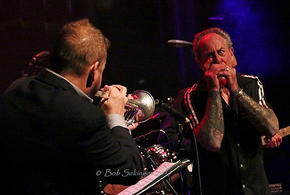 Mark and trumpet